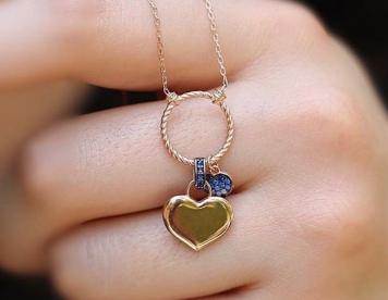 مدال آویز قلب کد 377