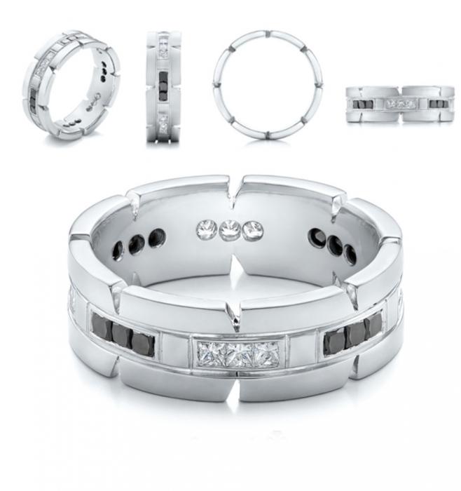 انگشتر رینگی کد G109