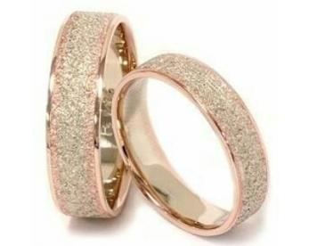 حلقه عروسی مدل کنتکس کد G153