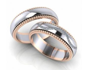 حلقه عروسی کد G154