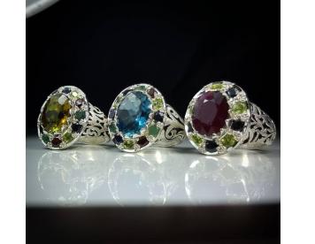 انپشتر مردانه جواهر مخراجی کد G226