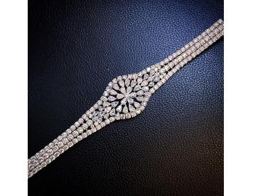 دستبند جواهر مدل ساعت کد G261