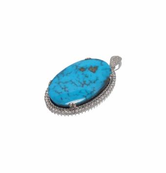 مدال جواهر فیروزه کد 107