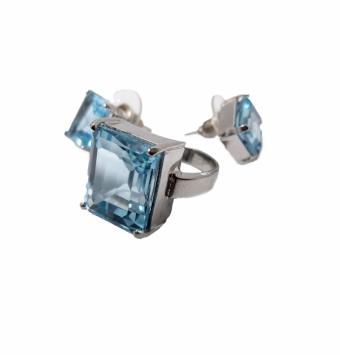 نیم ست جواهر اوپال کد 109