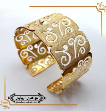 دستبند النگویی طلای زرد کد 245