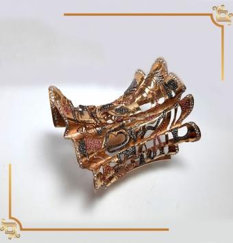 دستبند طلا روسی کد 230
