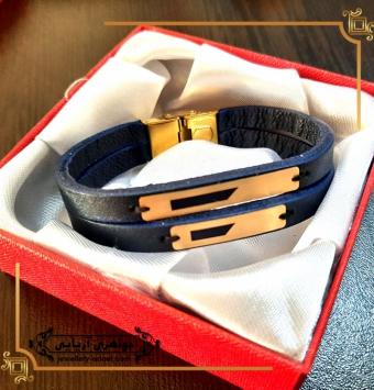 دستبند طلا مردانه کد 262