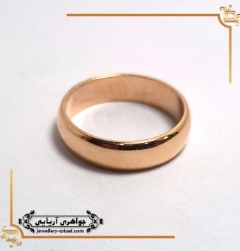 انگشتر رینگی ساده طلای زرد کد 264
