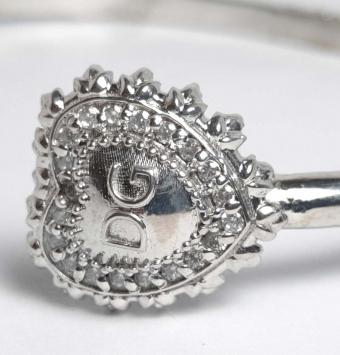 دستبند نقره طرح D&G